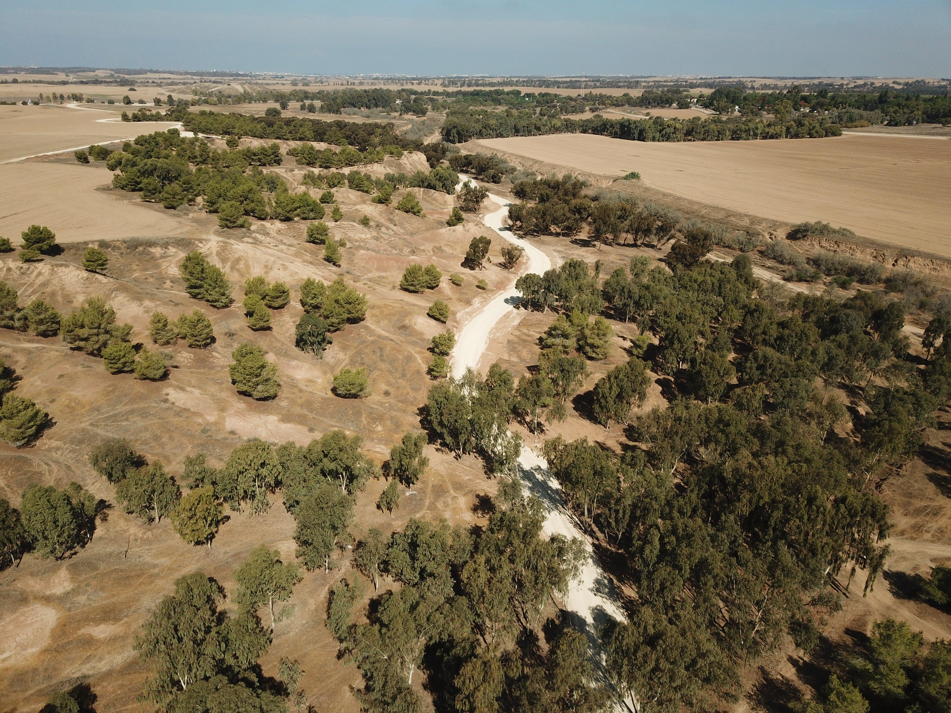 דרך הבשור התיכונה: מקטע פארק אשכול – תל ג'מה