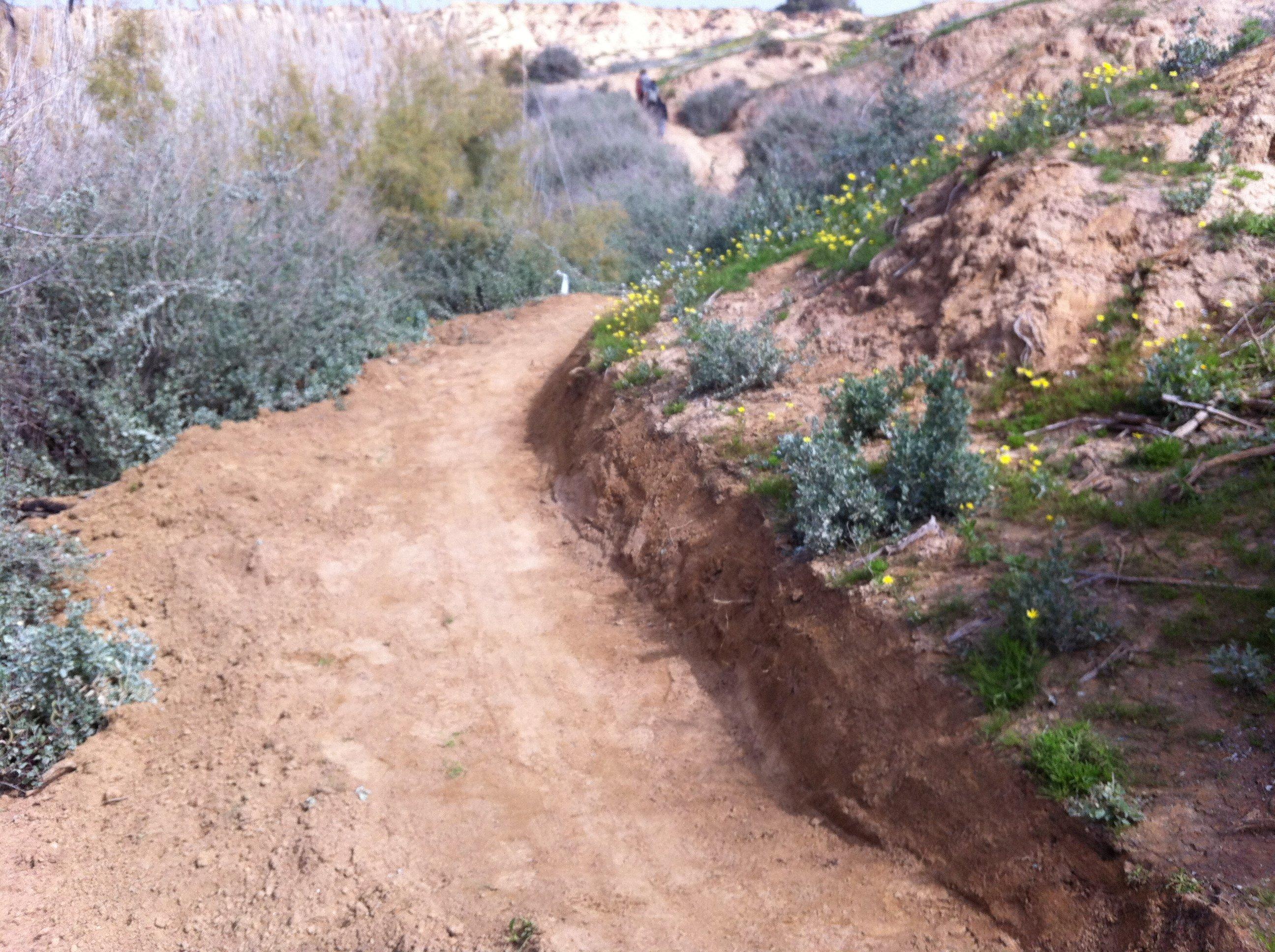 שביל אופניים בנחל הבשור - מבואת צאלים