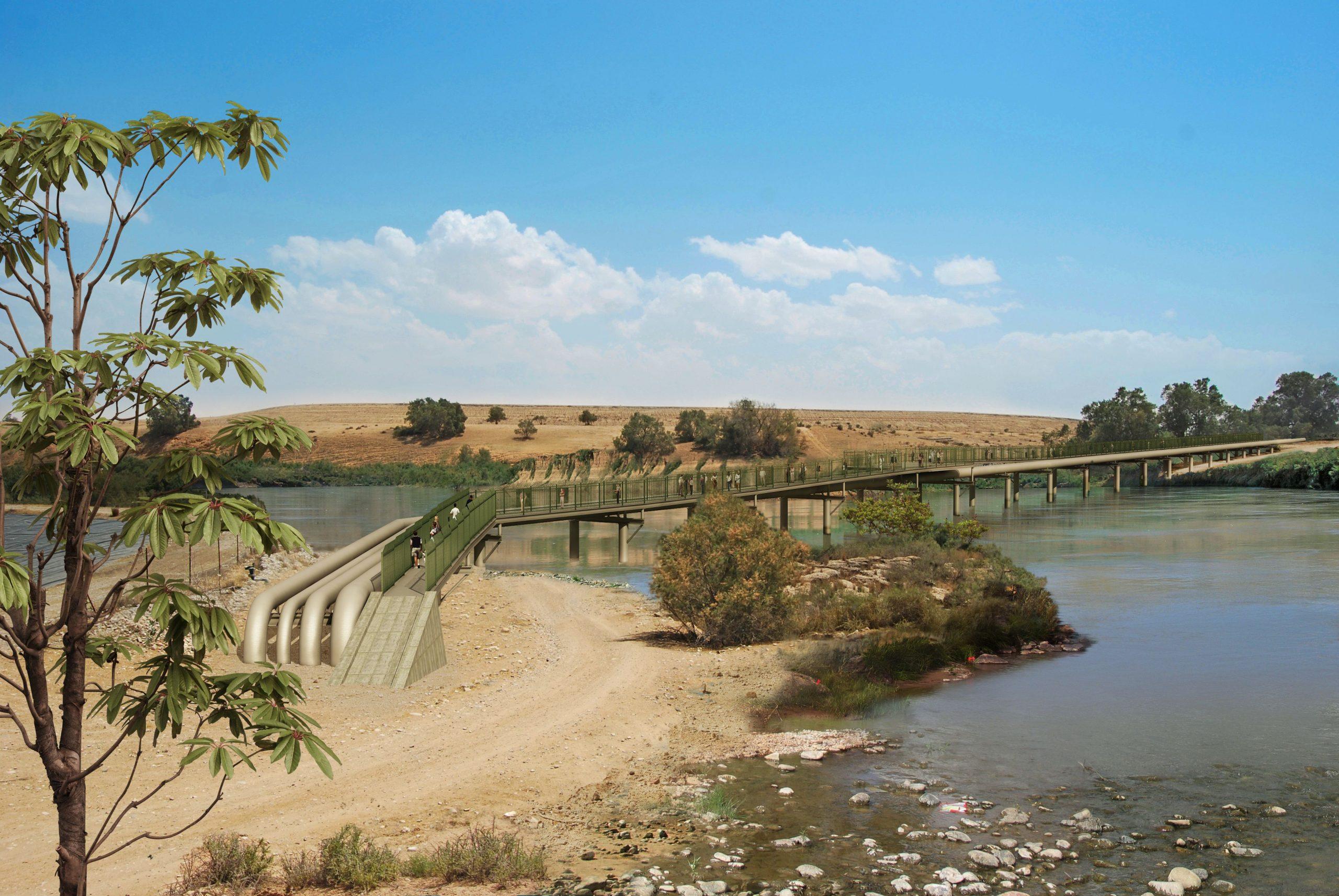 גשר הצינורות בנחל הבשור