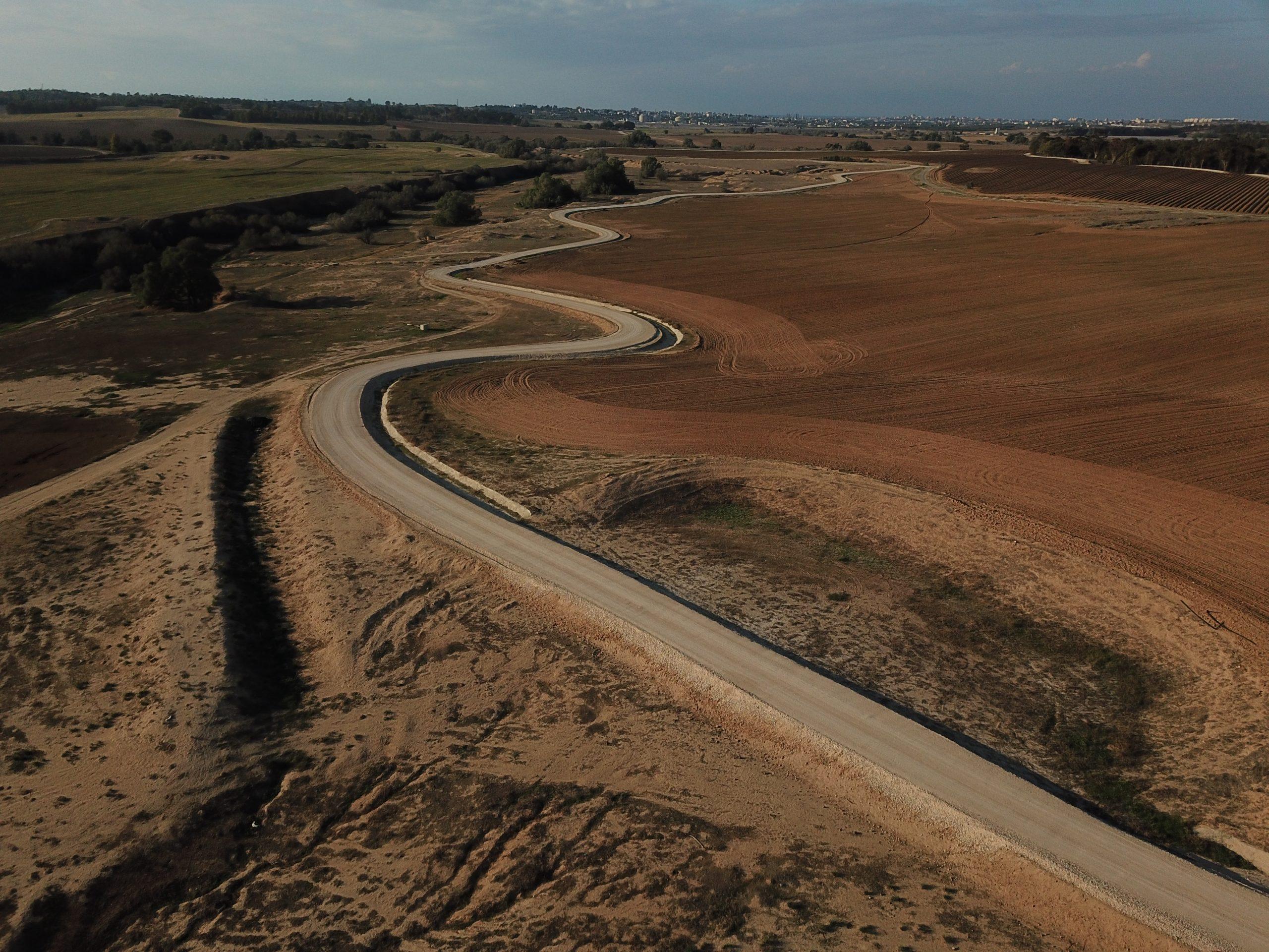 דרך הבשור הצפונית: מקטע תל ג'מה – חרבת גררית