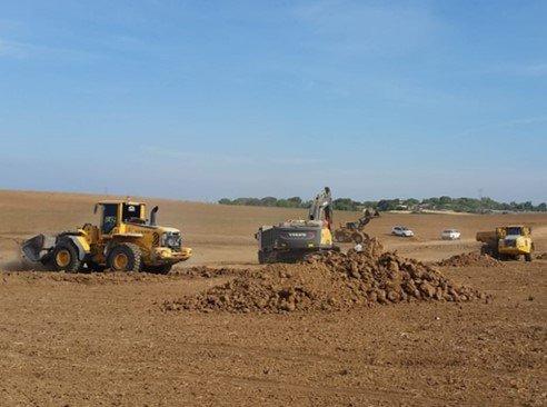 טיפול אגני ושימור קרקע במעלה נחל עובד